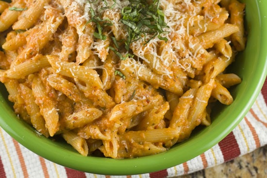 Gin Penne Pasta recipe from Macheesmo