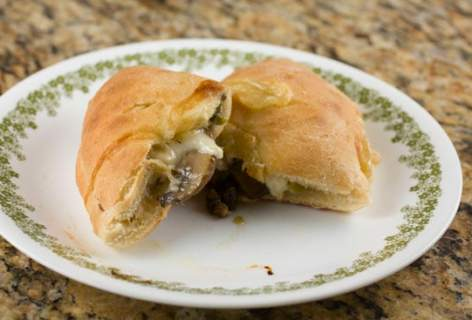 Mushroom and Swiss Pockets