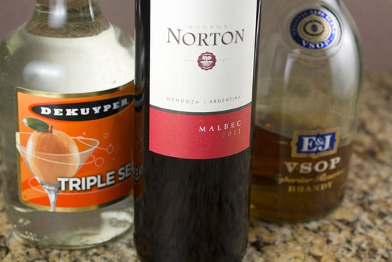 booze for Spicy Sangria