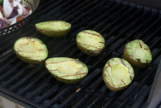 Avocado Close-up - Grilled Guacamole