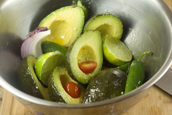 Ready to Grill - Grilled Guacamole