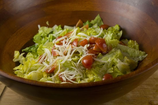 Grilled Scallop Caesar Salad