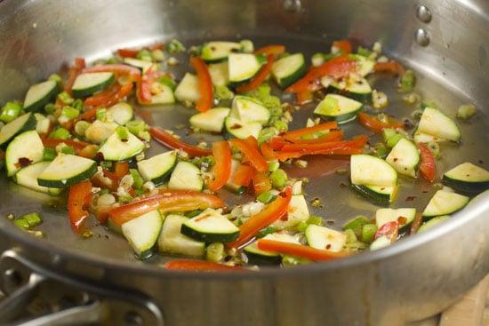 veg for Homemade Pasta Primavera