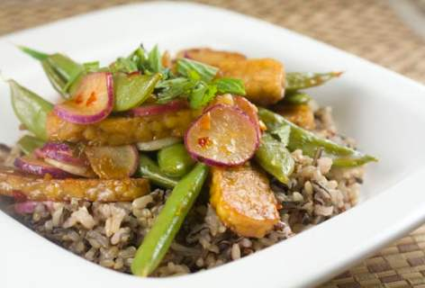 Spicy Radish Stir Fry