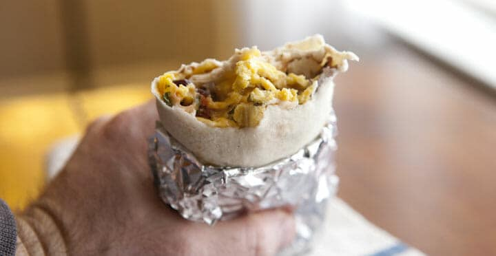 breakfast burritos to go link