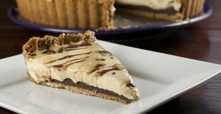 Black Bottom Peanut Butter Pie