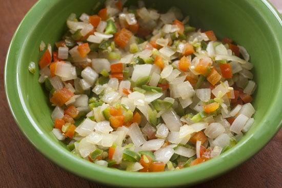 veggies for Corn Omelet