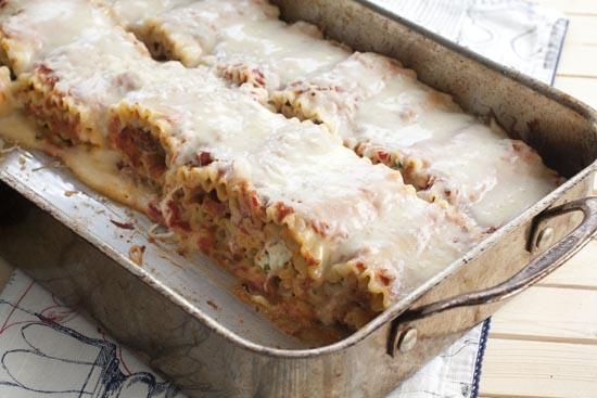 Lasagna Rolls recipe from Macheesmo