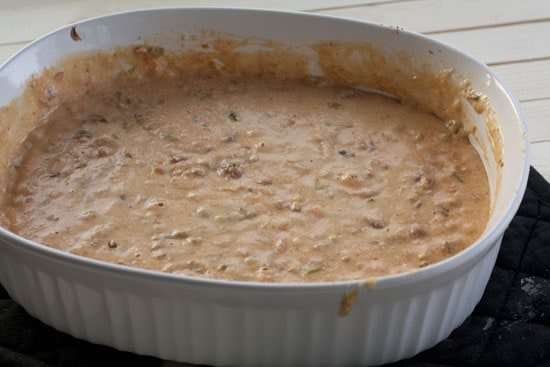 stirred Baked Queso Dip