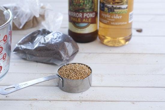 yellow - Whole Grain Mustard Recipe