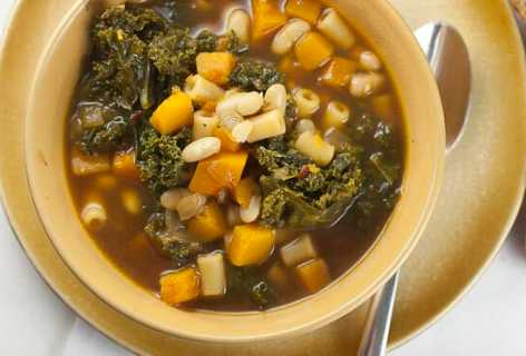 Squash and Kale Stew