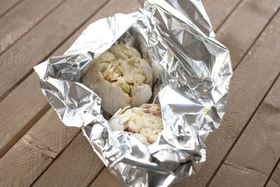 ready to roast garlic for Donkey Sauce