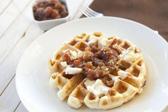 Date Waffles recipe from Macheesmo
