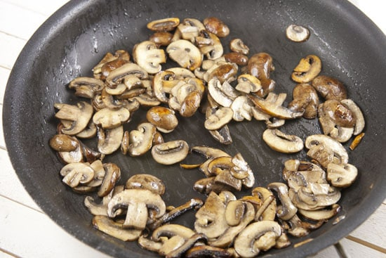 shrooms for Baked Risotto