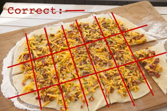 Bacon Cheese Pull Aparts Recipe