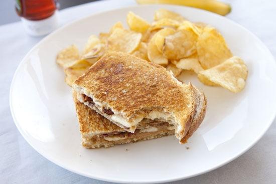 The PBBB sandwich. Peanut Butter Bacon Sandwiches