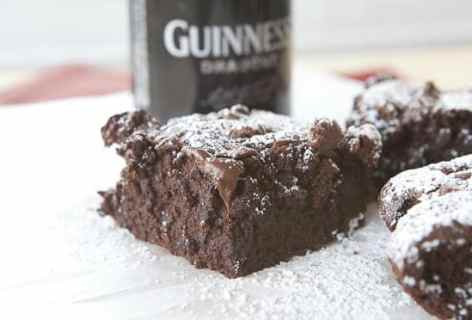 Triple Chocolate Guinness Brownies