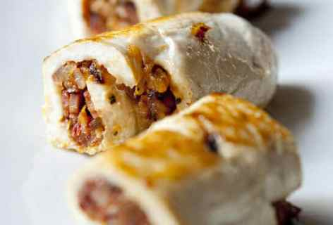 Bacon Chicken Roulade