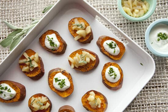 Sweet Potato Rounds - Macheesmo