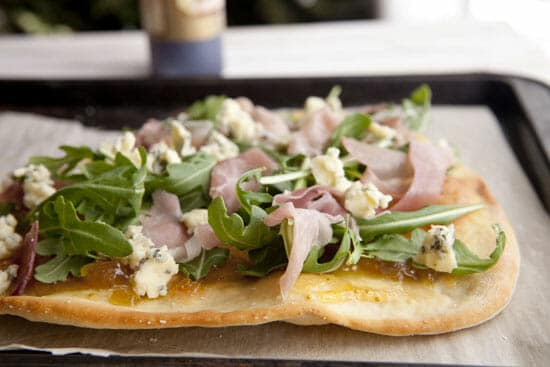 Topped generously - Fig Flatbread