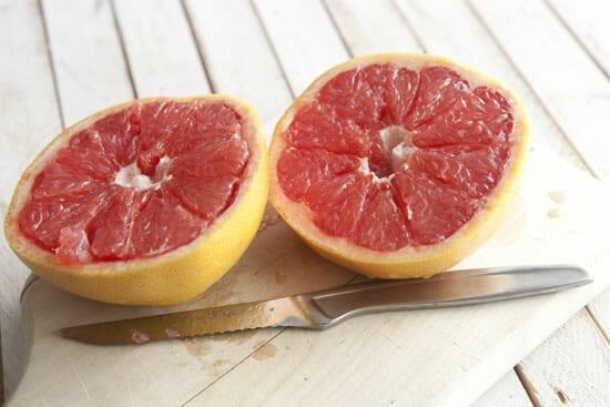 Broiled Grapefruit - Macheesmo