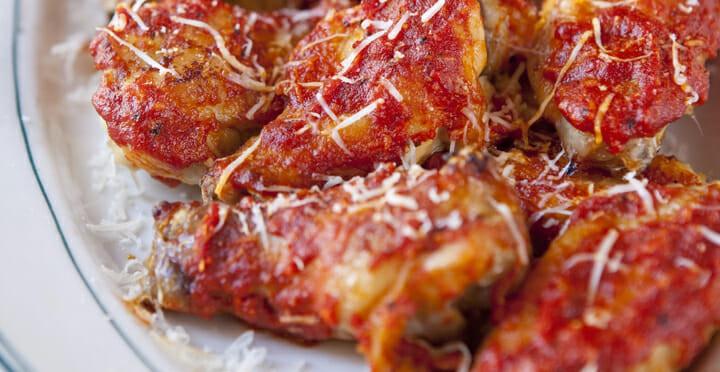 baked parmesan wings