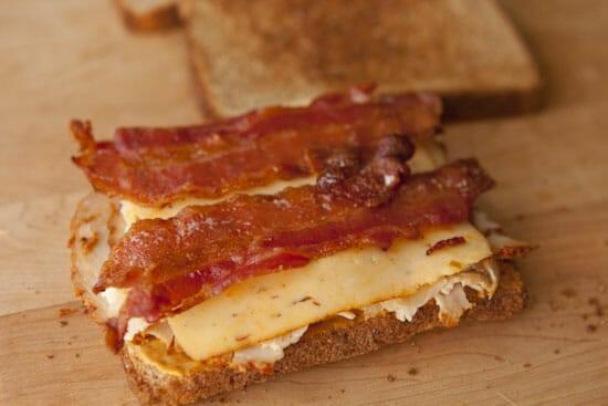 Chipotle Club Sandwich via Macheesmo