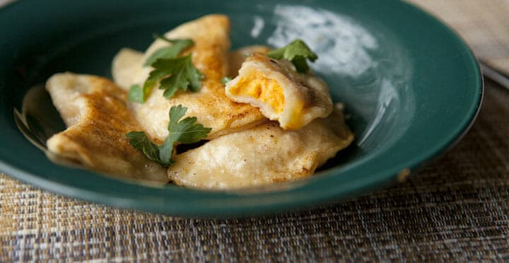 Sweet Potato Pierogi