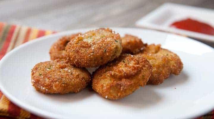 Crispy Homemade Veggie Nuggets