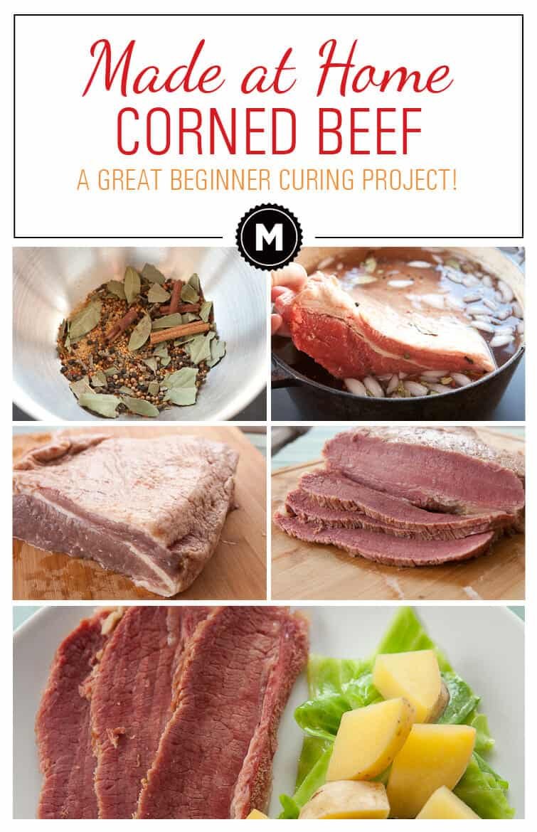 Homemade Corned Beef: A great beginner curing project. Easy to make ...