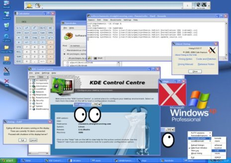 xming open source X windows Server ssh