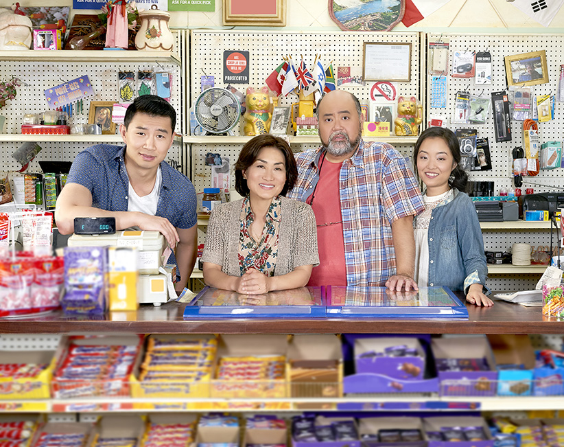 Kim s Convenience  A TV first that doesn t buckle under the pressure     The cast of the new CBC sitcom  Kim s Convenience  stand together for a  portrait