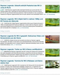 Rayman Legends News PCGames.de, Screenshot vom 1.1.2013