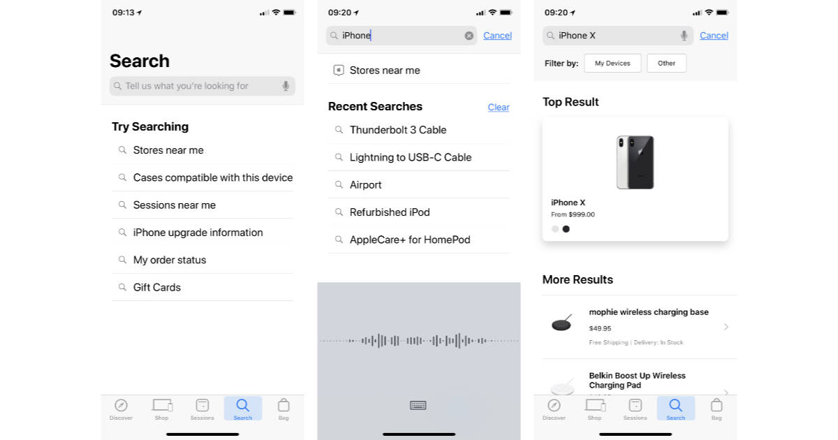 Apple Redesigns Apple Store App with New Search Features - The Mac Observer