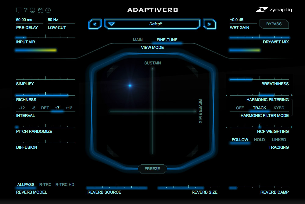 Zynaptiq unveils next generation smart Adaptiverb plugin