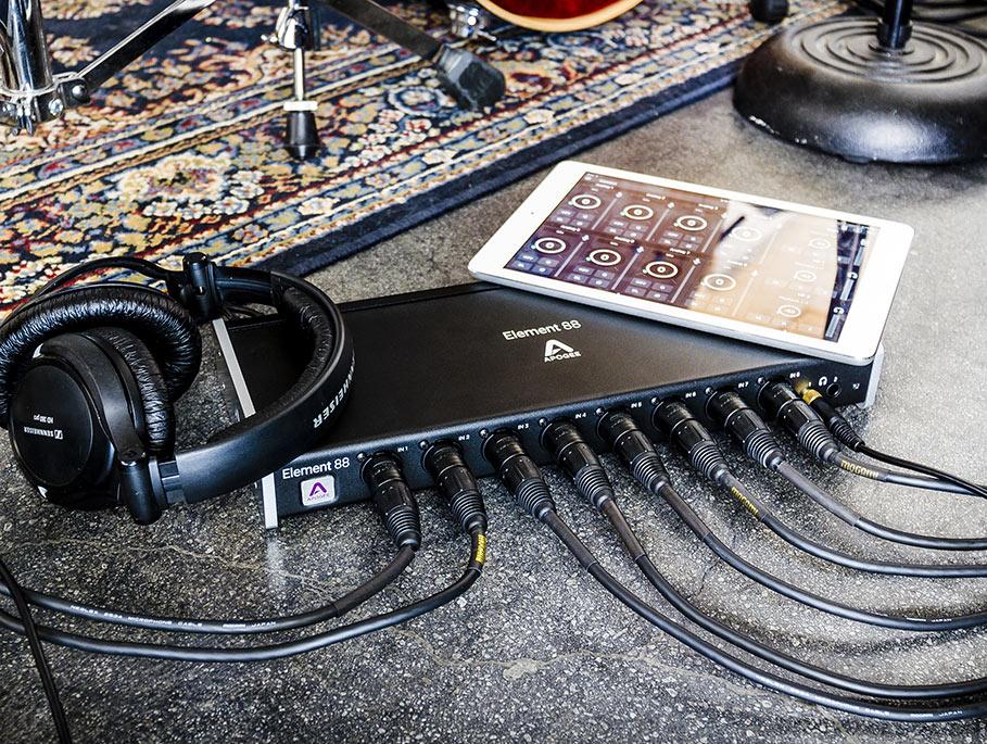 Apogee intros Element Series Thunderbolt audio interfaces