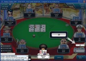 Online Poker Timing Tells