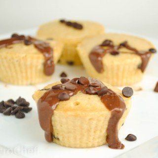 2 Minute Chocolate Chip Cupcakes