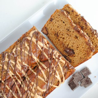 Peanut Butter Chocolate Chunk Protein Loaf