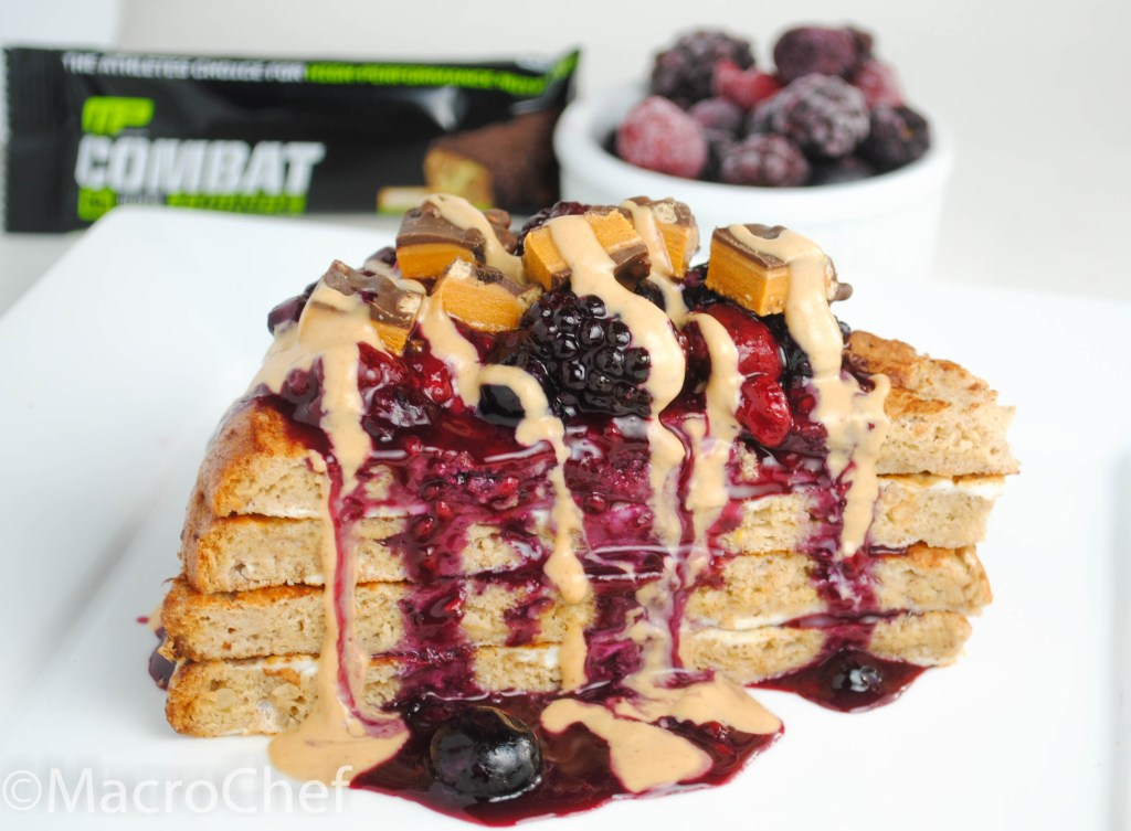 Berry Peanut Butter French Toast