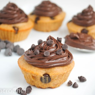 Chocolate Chip Protein Cupcakes