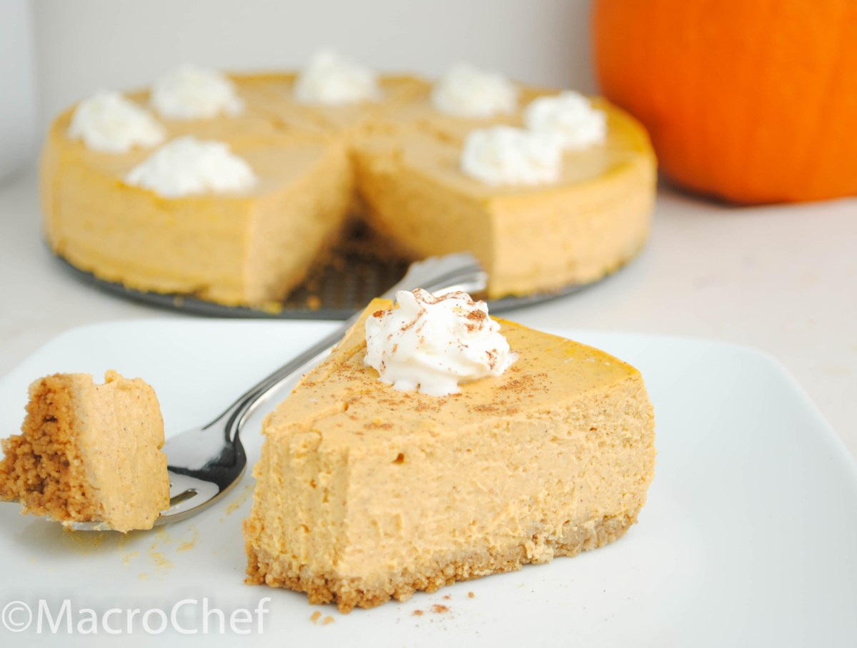 Pumpkin Pie Protein Cheesecake