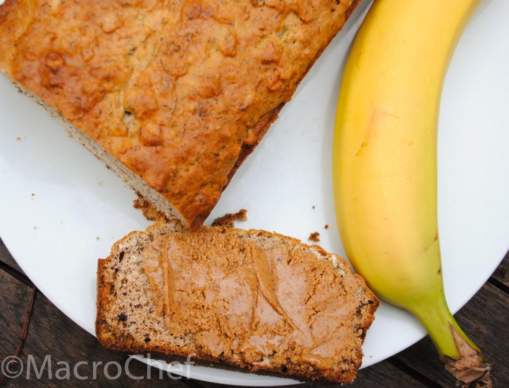 Banana Oat Protein Bread