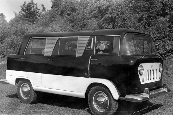 1958 Willys FC prototype passenger van