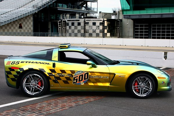 2008 Corvette Indianapolis 500 pace car