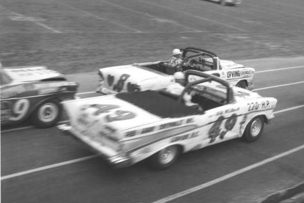 Bob Welborn 49 1957 Chevrolet Elmo Langley 8 1956 Chevrolet Bowman-Gray Stadium