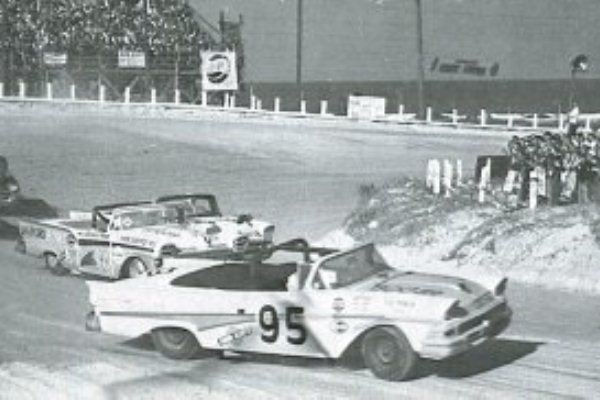 Fireball Roberts 95 1958 Ford Daytona Beach