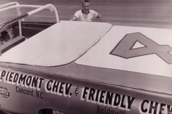 Rex White 1959 Chevrolet tonneau