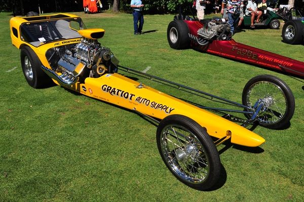 1964 Al Bergler More Aggravation Comp dragster