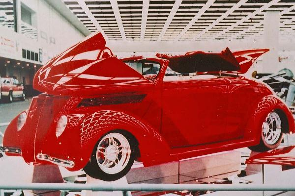 1996 George Poteet 1937 Ford Roadster